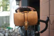 One-strap bag on Brooks saddle