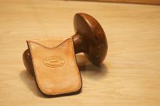 Back of 2 sided card holder.