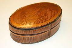 Oval box