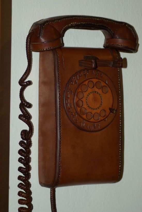 Leather Phone