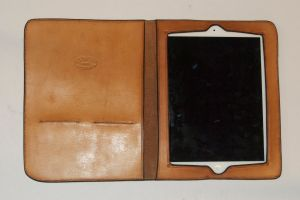 Inside of iPad 2 case