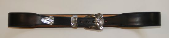 Basic belt made for a customer's buckle set.