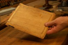 Wooden iPad form