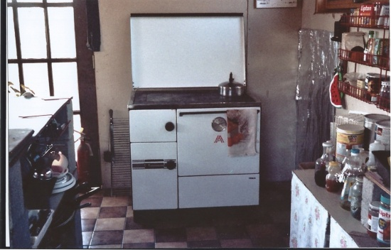 Our wood cook stove