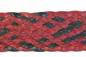 14 strand braided belt that I gave to my graduating PhD student.