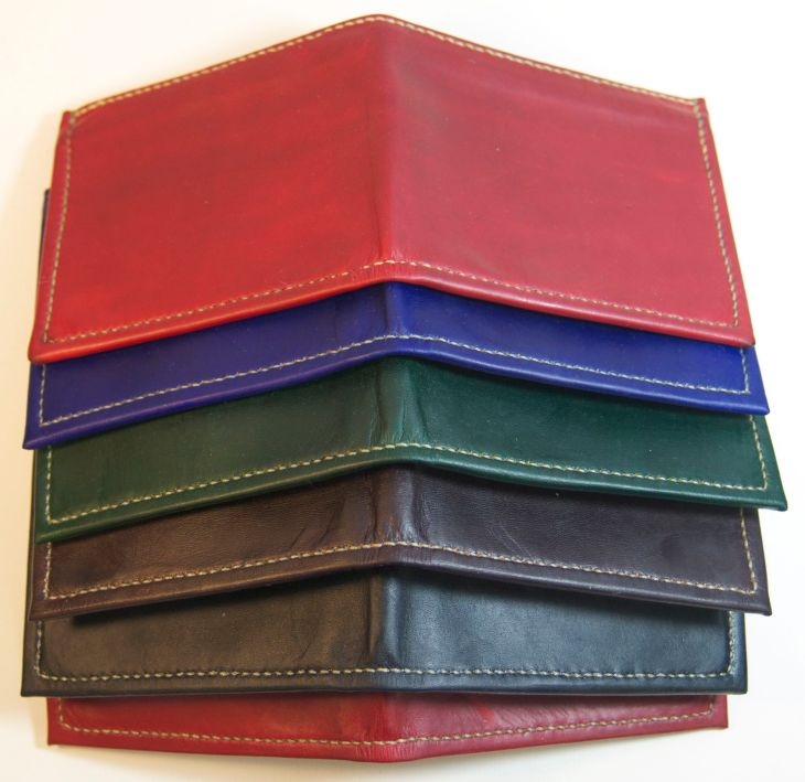 Bifold wallets: easy on the butt!