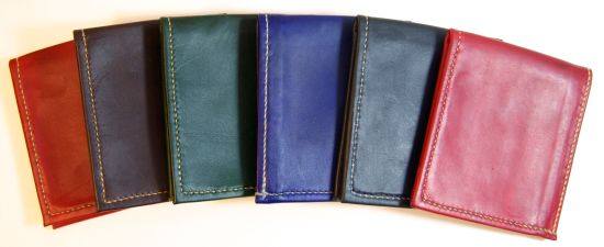 Kangaroo wallets, hand stitched, hand made.