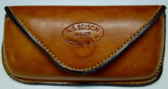 Front of glasses case